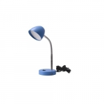 3.5W LED Desk Lamp, 25W Inc Retrofit, 220 lm, 3000K, Blue