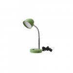 3.5W LED Desk Lamp, 25W Inc Retrofit, 220 lm, 3000K, Green