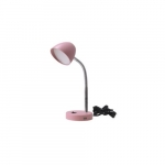 3.5W LED Desk Lamp, 25W Inc Retrofit, 220 lm, 3000K, Pink