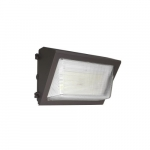 40W LED Wall Pack w/ Photocell Sensor, 175W MH Retrofit, 5540 lm, 4000K, Bronze