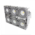 630W LED Stadium Light w/Arch Yoke Mounting Bracket, 5000K