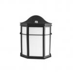 14W LED Outdoor Wall Lantern, 60W Inc Retrofit, 1200 lm, 2700K