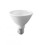 10W LED PAR30 Bulb, Short Neck, Dimmable, Narrow Flood, 3000K