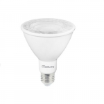 10W LED PAR30 Bulb, Long Neck, Dimmable, Narrow Flood, 3000K