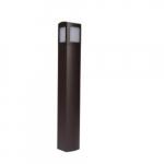 6-Ft 13W LED MPulse Bollard Fixture, Type V, 50W MH Retrofit, 893 lm, 5000K
