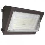 50W LED Wall Pack w/Emergency(-20'C), 250W MH Retrofit, 0-10V Dim, 7065 lm, 5000K