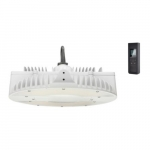 160W LED High Bay w/Motion and Remote, 0-10V Dimmable, 400W MH Retrofit, 22264 lm, 5000K