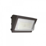 28W LED Wall Pack w/ Battery Backup, 150W MH Retrofit, 3640 lm, 5000K, Bronze
