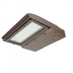 100W LED Area Light, Type IV, 347-480V, 0-10V Dimming, 250W MH Retrofit, 12550 lm, 4000K