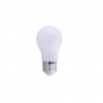 7W LED A15 Bulb, 60W Inc Retrofit, Dimmable, E26, 800 lm, 3000K, Frosted