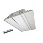 128W LED Linear High Bay w/Backup, 0-10V Dimmable, 400W MH Retrofit, 16700 lm, 5000K