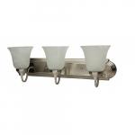 30W LED Tulip Vanity Light, Triac Dimming, 2100 lm, 120V, 3000K