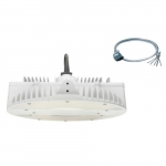160W LED High Bay w/Motion and Plug (277V), 0-10V Dimmable, 400W MH Retrofit, 5000K