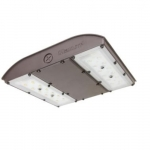 28W LED Canopy Light w/ Motion, Backup Battery, 150W MH Retrofit, 3870lm, 5000K, Bronze