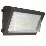 50W LED Wall Pack w/Emergency(-20'C), 250W MH Retrofit, 0-10V Dim, 7065 lm, 4000K