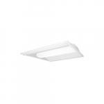 34W 2x4 LED Troffer Retrofit Kit w/ Motion Sensor, Dimmable, 4257 lm, 4000K