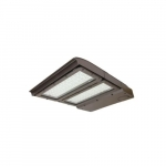 200W LED Area Light, 400W MH Retrofit, Dim, Type IV, 24335 lm, 4000K, Bronze