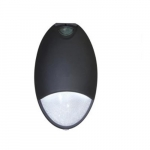 17W LED Wall Pack, Emergency Light w/ Photocontrol, 42W CFL Retrofit, 1275lm, 5000K