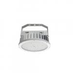 240W LED Round High Bay Pendant w/ 120V Cord & Plug, 600W MH Retrofit, 4000K, White