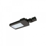 100W LED Slim Area Light w/ Sensor, 250W MH, Dim, Type III, 12420 lm, 4000K, Bronze