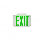 1.5W Emergency Exit Sign, 120V-277V, Green