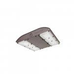 56W LED Canopy Light w/ Battery Backup & Sensor, 250W MH Retrofit, 6655 lm, 5000K