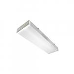 2-ft 25W LED Utility Wrap Light w/ Motion Sensor & Remote, 2962 lm, 120V-277V, 5000K