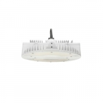 130W LED Round High Bay Pendant w/ Cord & Plug, Dimmable, 17495 lm, 4000K