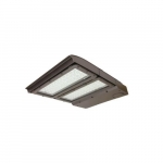 200W LED Area Light, 400W MH Retrofit w/ 3-Pin, Dim, Type III, 24335 lm, 5000K, Bronze