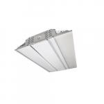 160W 2-ft LED Linear High Bay Fixture, 400W HID Retrofit, Dim, 20986 lm, 5000K
