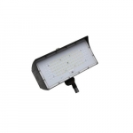 50W LED Medium Flood Light w/ Knuckle Mount, Dim, Narrow, 6900 lm, 4000K, Bronze