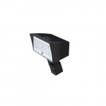 50W LED Medium Flood Light w/ Slipfitter Mount, Dim, Narrow, 6900 lm, 4000K, Bronze