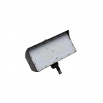 50W LED Medium Flood Light w/ Knuckle Mount, Dim, Wide, 6900 lm, 4000K, Bronze