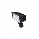 50W LED Medium Flood Light w/ Slipfitter Mount, Dim, Wide, 6900 lm, 4000K, Bronze