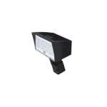 80W LED Medium Flood Light w/ Slipfitter Mount, Dim, 9900 lm, 4000K, Bronze