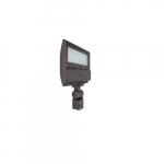 124W LED Flood Light w/ Knuckle Mount & Sensor, 400W MH Retrofit, Dim, 5000K, Bronze