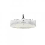 185W LED Round High Bay Pendant w/ Twist Lock Cord & Plug, Dim, 5000K