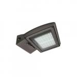 95W LED Area Light w/ Motion Sensor, 400W MH Retrofit, Dim, 5000K, Bronze