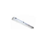25W 4-ft LED Vapor Tight Fixture, Dimmable, 3216 lm, 4000K
