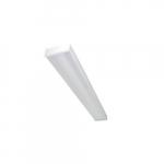 4-ft 25W LED Utility Wrap w/ Motion Sensor, 0-10V Dimmable, 3049 lm, 120V-277V, 5000K