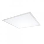 30W 2x2 LED Flat Panel, Dimmable, 3300 lm, 120V-277V, 4000K