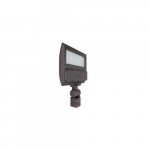 100W LED Flood Light w/ Trunnion Mount, 250W MH Retrofit, Dim, 4000K, Bronze