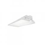 428W 4-ft LED Linear High Bay Fixture w/ Sensor and Cord, Dim, 55675 lm, 5000K
