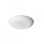 3-in / 4-in 7W LED Disc Light, E26, 650 lm, 120V, CCT Selectable, White