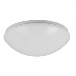 11-in 16W LED Puff Flush Mount, Triac Dimming, 120V, Selectable CCT