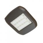 80W LED Shoebox Light, Type V, 347-480V, 0-10V Dim, 250W MH Retrofit, 12000 lm, 5000K