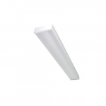 4-ft 66W LED Utility Light Fixture with On/Off Motion Sensor, Single End, 120V-277V