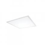 2x2 18W LED Flat Panel w/ Sensor, Dim, 2090 lm, 120V-277V, Selectable CCT