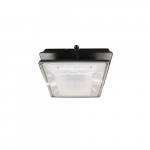 20W LED Canopy Light w/ Backup & Photocell, Type V, 2374 lm, 120V-277V, 4000K
