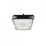 20W LED Canopy Light w/ Backup & Sensor, Type VS, 2374 lm, 120V-277V, 4000K